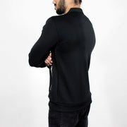 Devoted Evolve Biker Jacket Black - Muscle Fit Gym wear & sports clothing - Back