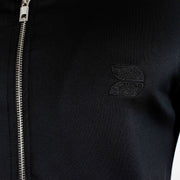 Devoted Evolve Biker Jacket Black - Muscle Fit Gym wear & sports clothing - Closeup 2