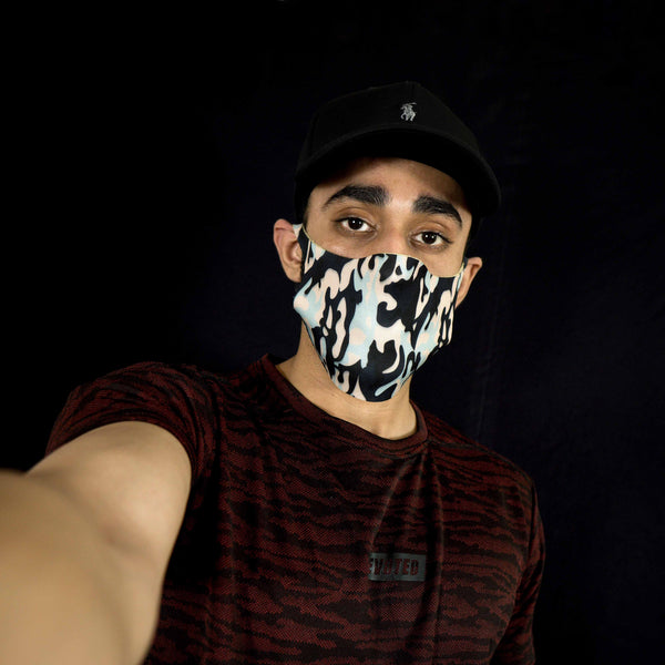 S-Masks - Devoted 3 PLY Fashionable Masks - Camo