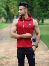 Nitish Saini rocking the Devoted Allure Gym Sleeveless Hoodie