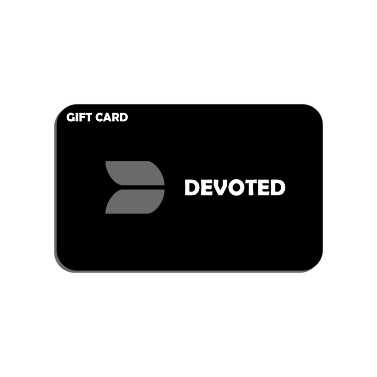 Devoted E-Gift Card, the perfect gift for your loved ones - Gym & Sports Clothing & Apparels