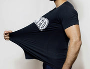 Devoted Allure T-shirt-Black-Stretch | Stretch-Muscle Fit | Gym Wear | SportsWear