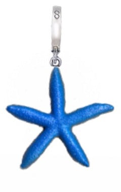 Blue Starfish Charm