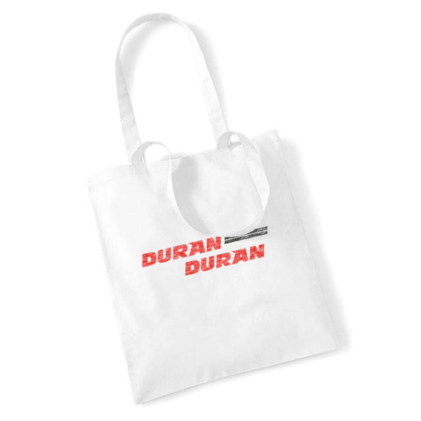 NEW! –  WHITE RETRO LOGO TOTE