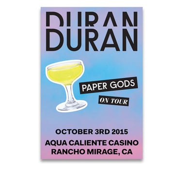 POSTER - RANCHO MIRAGE CA. OCT 3rd