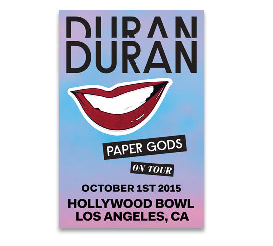 POSTER - HOLLYWOOD BOWL OCT 1st