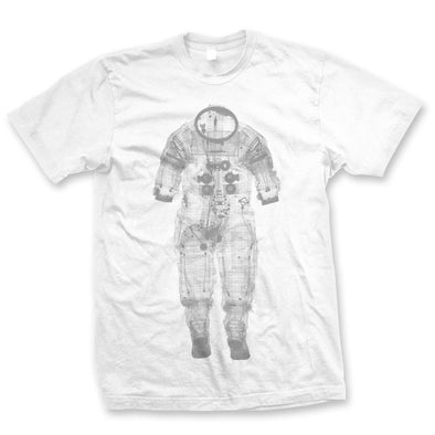WHITE SPACE SUIT X-RAY  T