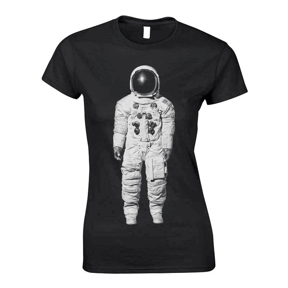 BLACK SPACE SUIT  T GIRLS  CUT