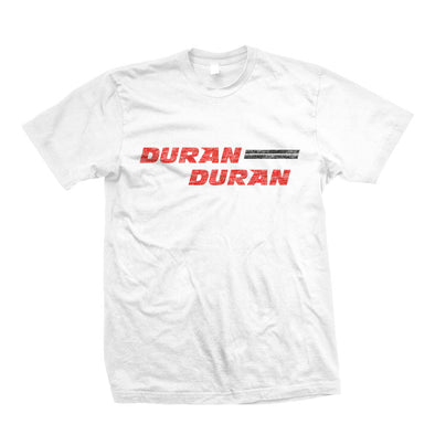 WHITE RETRO LOGO T