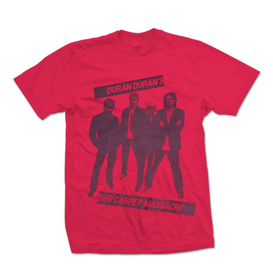 RED RCM BANDSHOT T  ( Regular and girls fit)