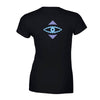 BLACK RIO EYE T Girls cut