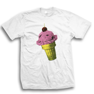WHITE ICE CREAM T
