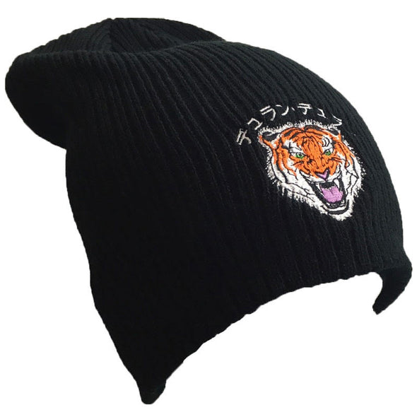 NEW - JAPANESE TIGER SLOUCH BEANIE