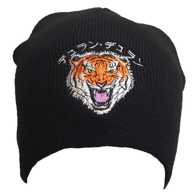 JAPANESE TIGER BLACK BEANIE