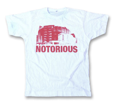 WHITE LIMITED EDITION MSG NOTORIOUS T - Girls fit