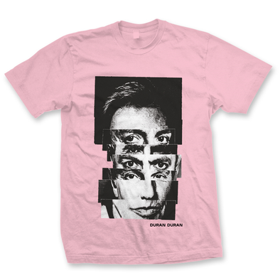 NEW  - PINK SPLIT FACE T UNISEX FIT