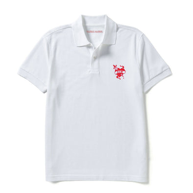 White RCM Polo Shirt