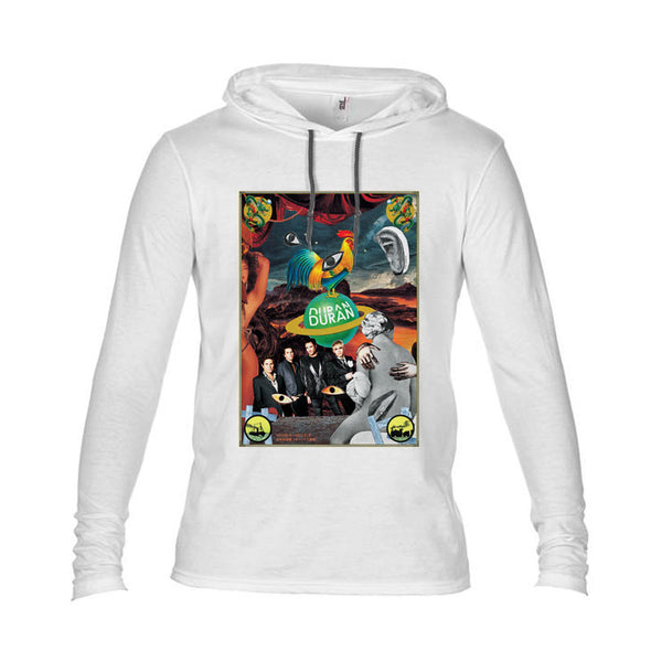 NEW! White Yokoo Poster Lightweight Hood
