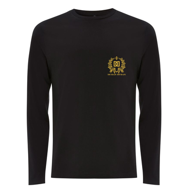 NEW - BLACK CREST LONGSLEEVE