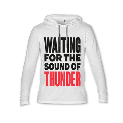 NEW ! – WHITE THUNDER LIGHTWEIGHT HOOD  UNISEX FIT