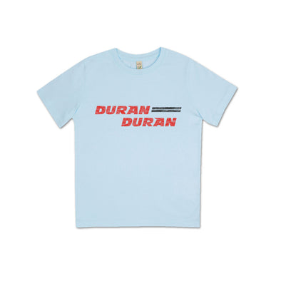 BLUE JUNIOR RETRO T