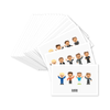 NEW !  SET OF 20 DD TIMELINE CHARACTER POSTCARDS
