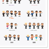NEW !  DURAN DURAN CHARACTERS - TIMELINE POSTER
