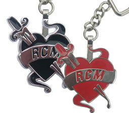 RCM ENAMEL BADGES  x 2