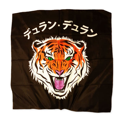 NEW ! LIMITED EDITION JAPANESE TIGER LUXURY SILK SCARF