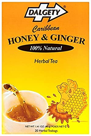Honey & Ginger Herbal Tea