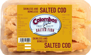 Colombos Finest Quality Cod Skinless & Boneless Salted Fish 250g