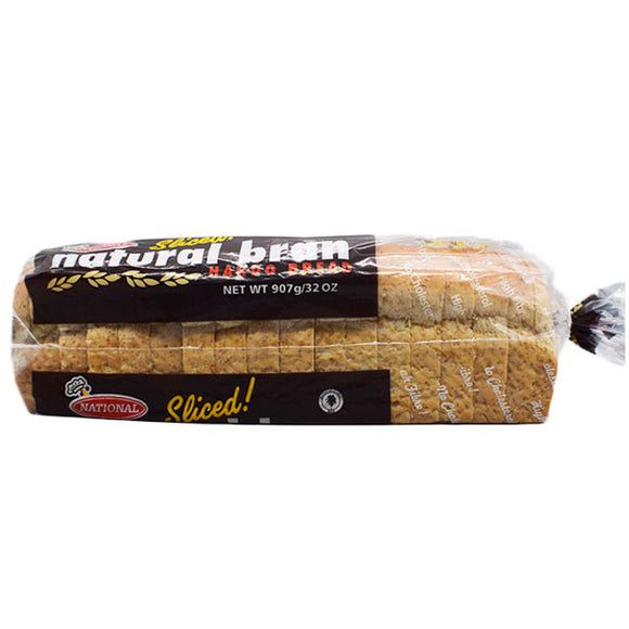 Natural Bran Hardo Bread