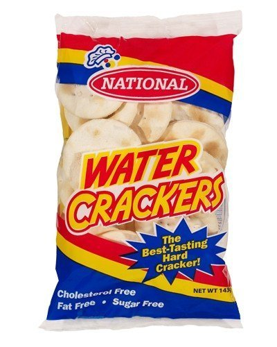 National Water Crackers 143g (Small Pack)