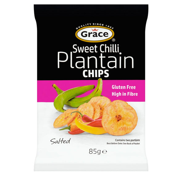 Grace Sweet Chilli Plantain Chips