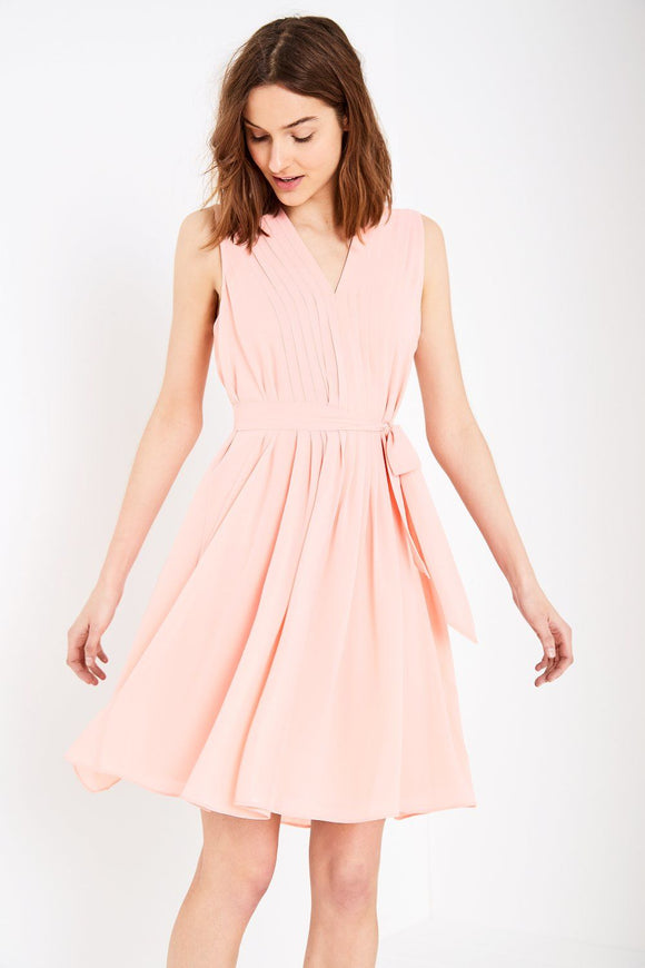 WHEILDON PLEATED DRESS