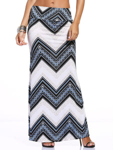 Material: Polyester  Length: Floor-Length  Silhouette: Bodycon  Pattern Type: Print  Season: Fall,Spring,Summer  Weight: 0.270kg  Package Contents: 1 x Skirt