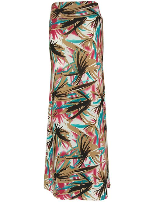 Material: Polyester,Spandex  Length: Floor-Length  Silhouette: Straight  Pattern Type: Print  Season: Fall,Spring,Summer,Winter  Weight: 0.230kg  Package Contents: 1 x Skirt