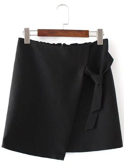 Material: Polyester  Length: Mini  Silhouette: A-Line  Pattern Type: Solid  Season: Fall,Spring,Summer  Elasticity: Elastic  With Belt: No  Weight: 0.270kg  Package Contents: 1 x Skirt