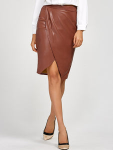 Material: Polyester  Length: Knee-Length  Silhouette: Pencil  Pattern Type: Solid  Season: Fall,Spring,Summer  Weight: 0.350kg  Package Contents: 1 x Skirt