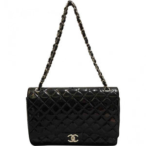 Timeless patent leather handbag