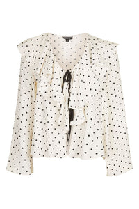 TALL Polka Dot Blouse