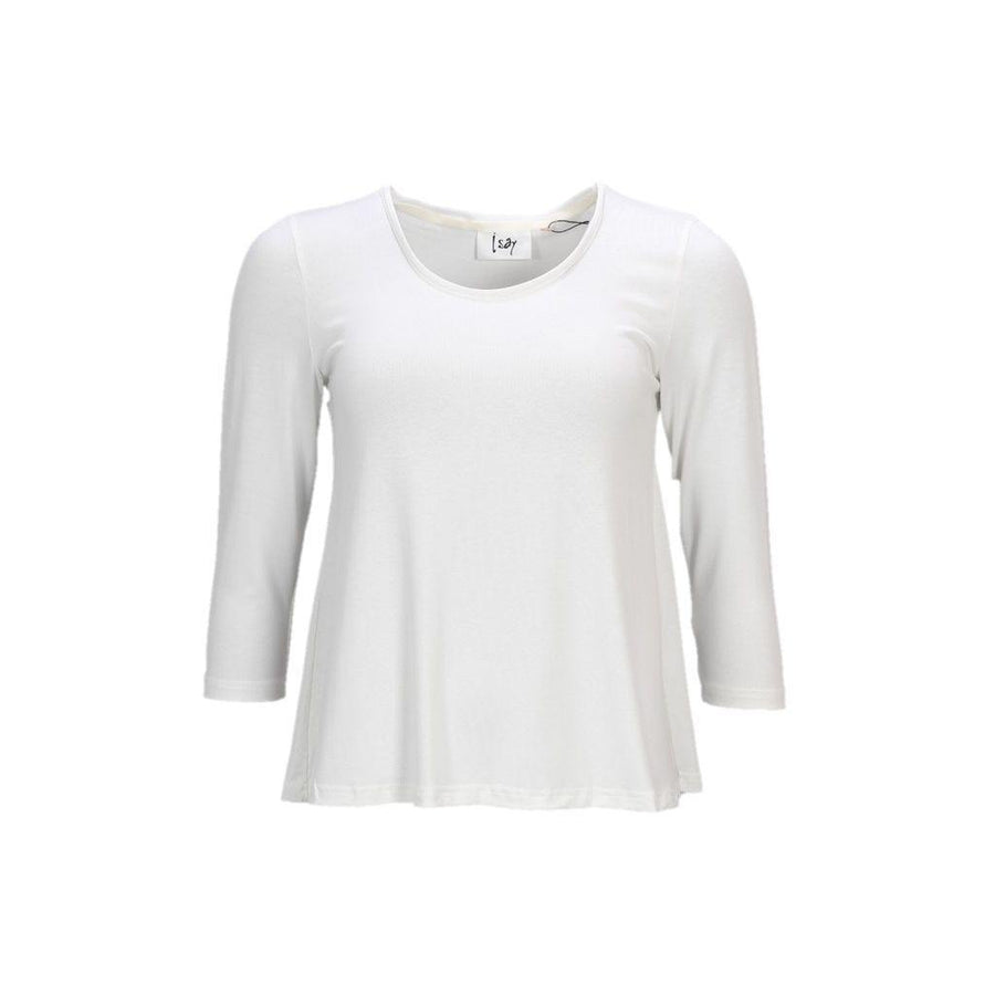 Louis 3/4 Sleeve Blouse - Broken White