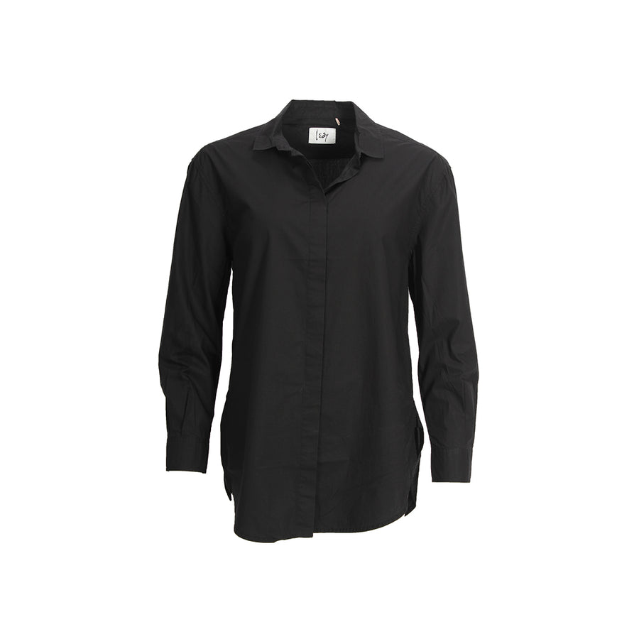 Bellis Long Shirt - Black