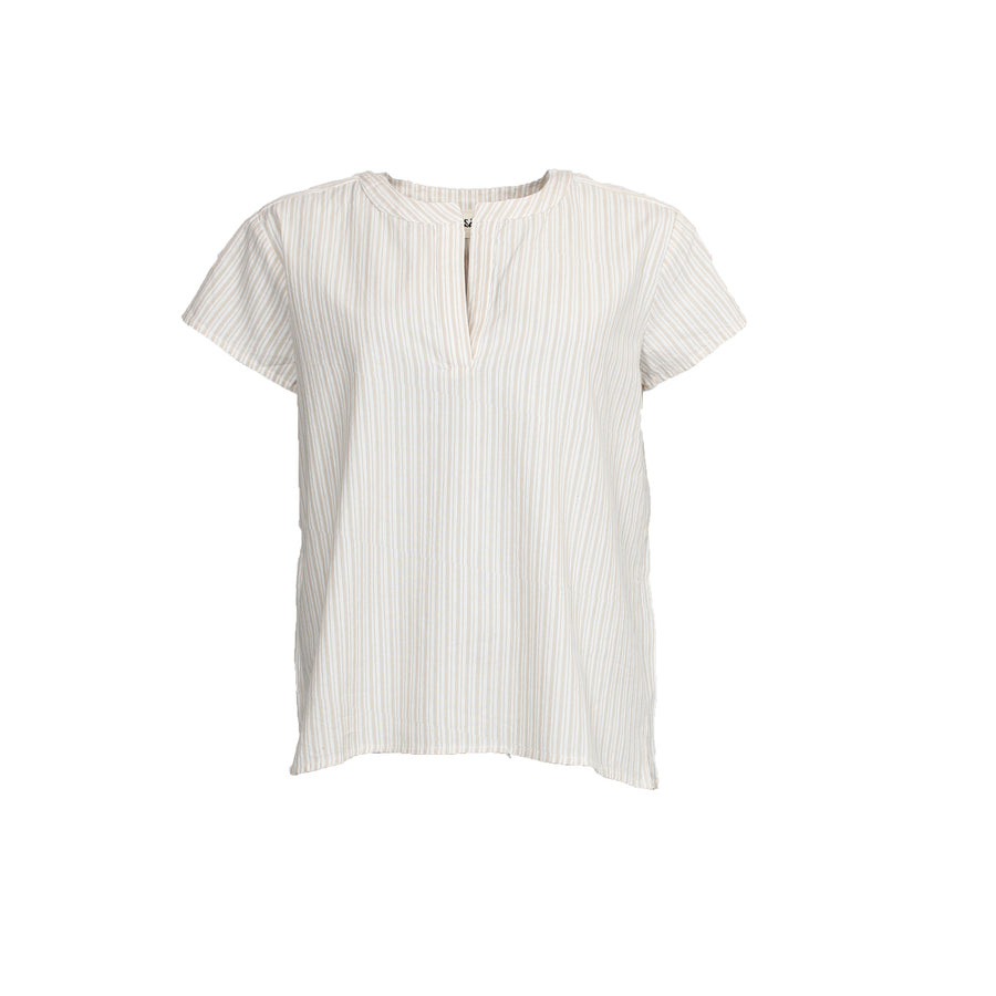 Gy Blouse - Sand Stripe