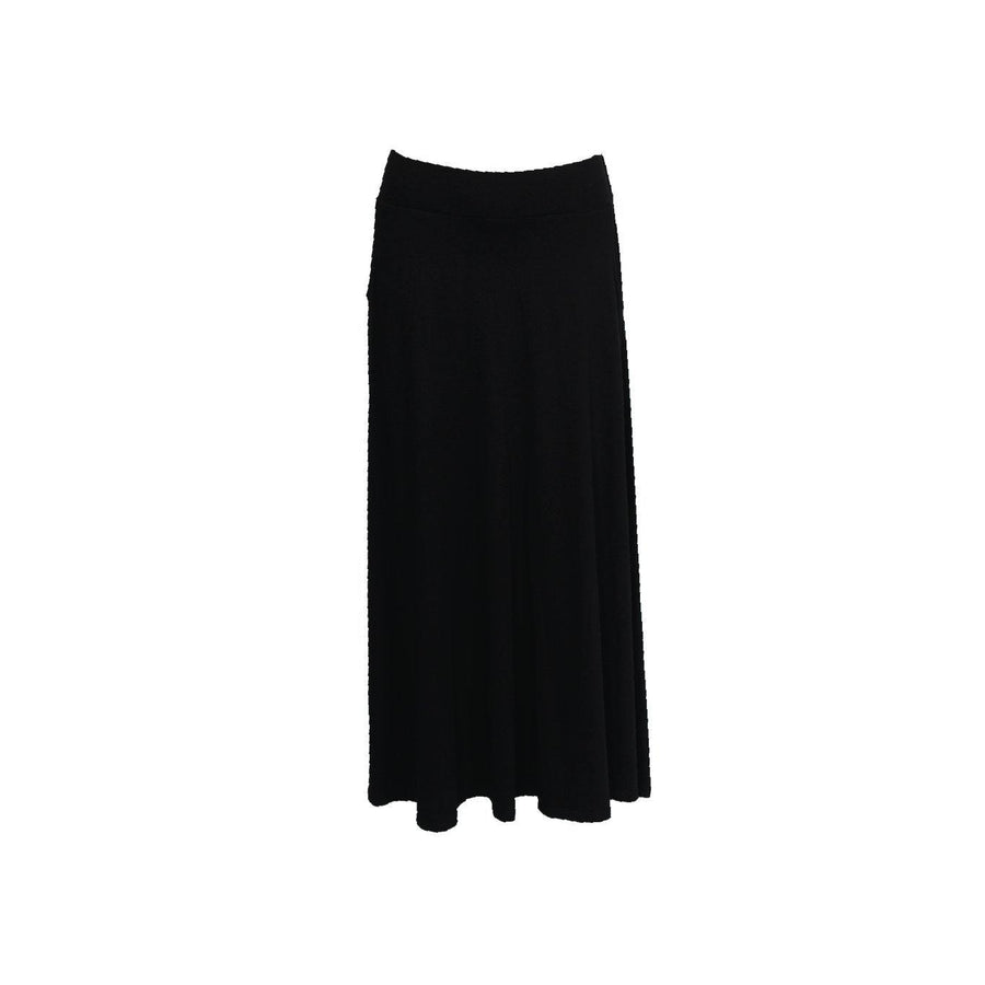 Jeddy Maxi Skirt - Black