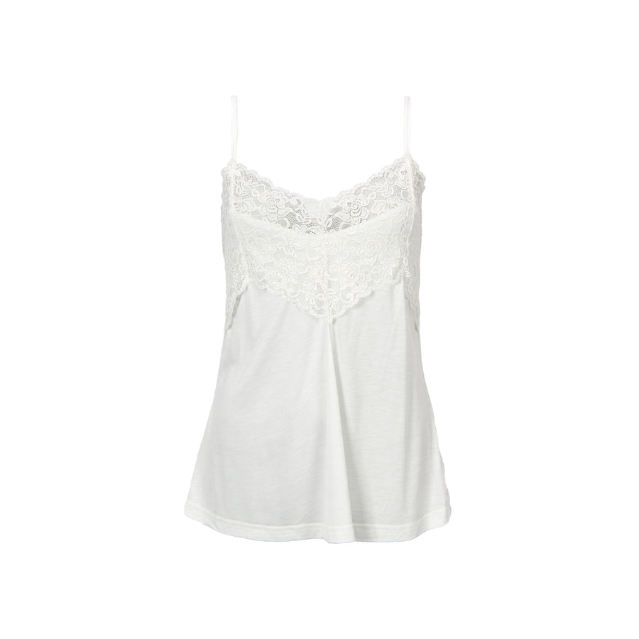 Nugga Lace Top - Broken White