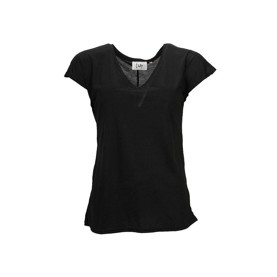 Nugga V-Neck T-Shirt - Black