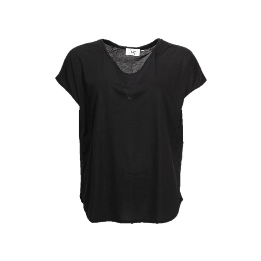 Nugga Viscose T-Shirt - Black