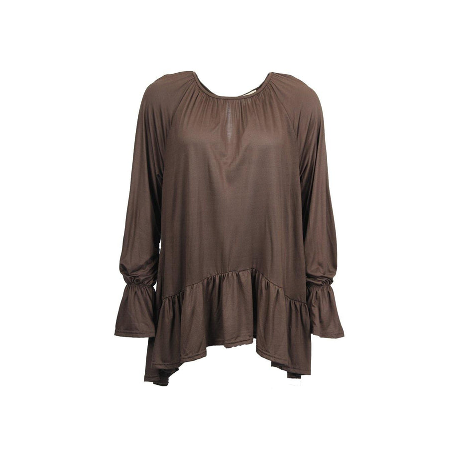 Bluser damer Isay Henny Blouse Blouses 356 Dark brown