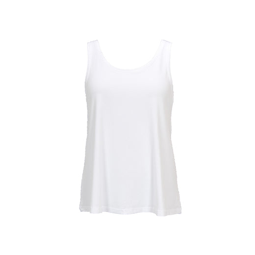 Isay Louis Tank Top Tops 100 White